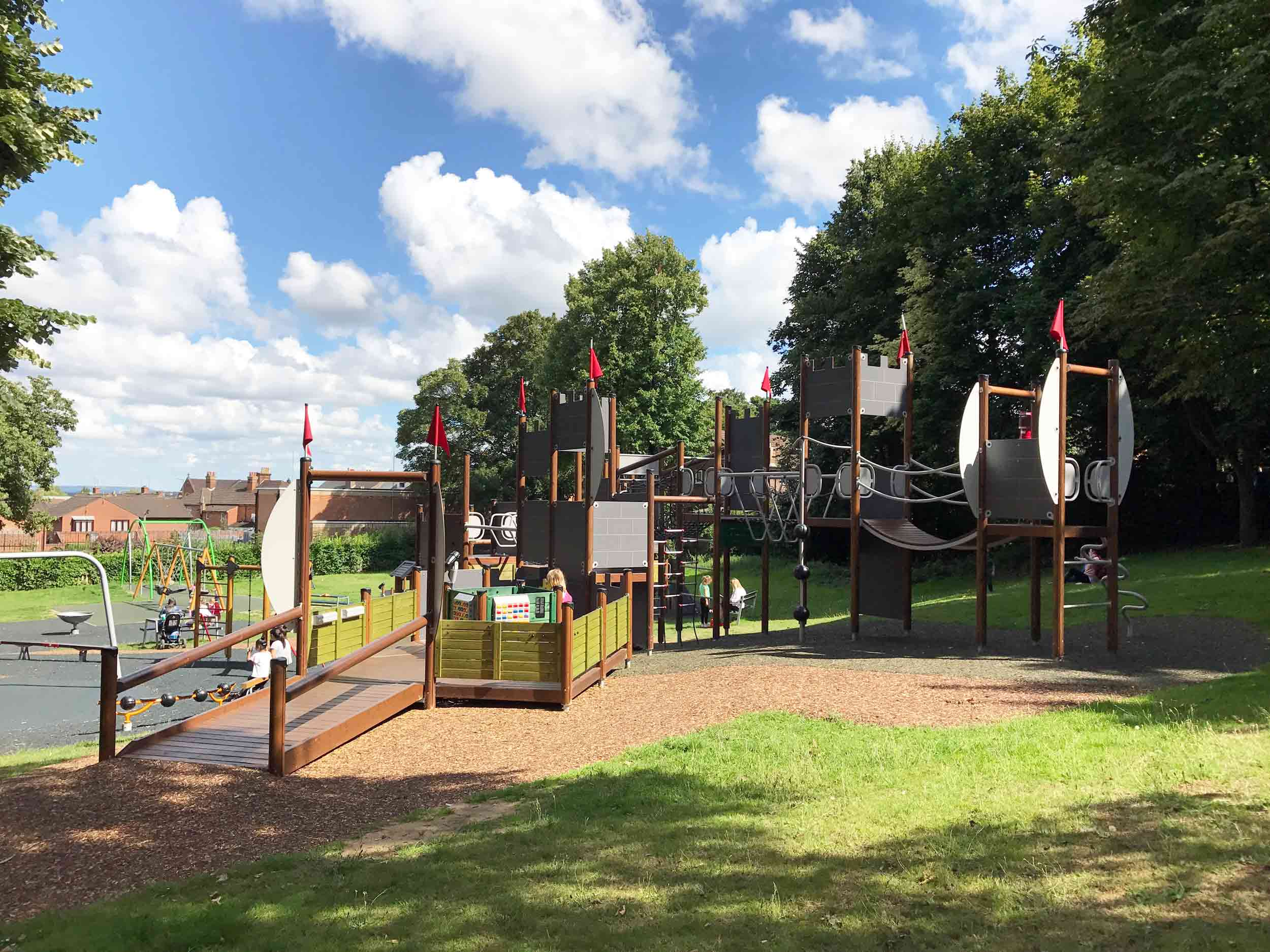 Nice Municipal Gardens And Play Area, Aldershot, Hampshire